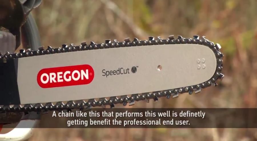 Oregon SpeedCut Saw Chain Testimonial