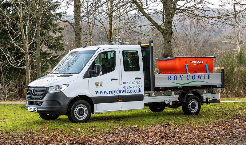 Mercedes-Benz Sprinter crew cab rules for Roy Cowie