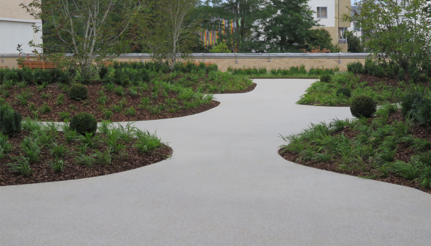 Edging systems by EverEdge for hard landscaping projects