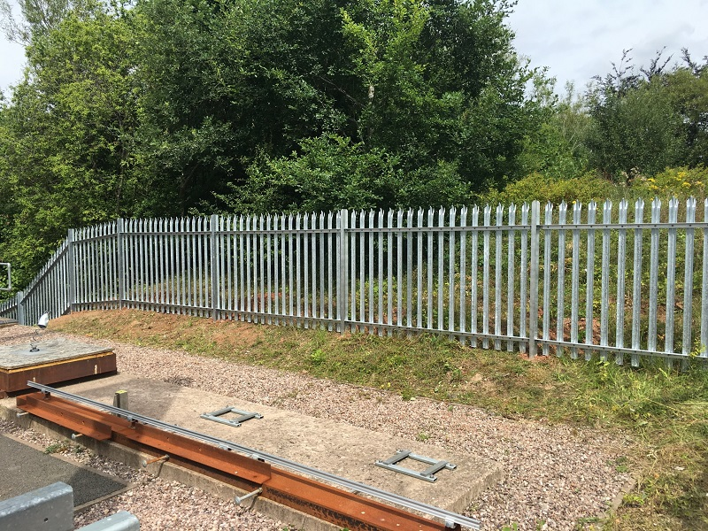 Palisade Fencing; a strong physical barrier