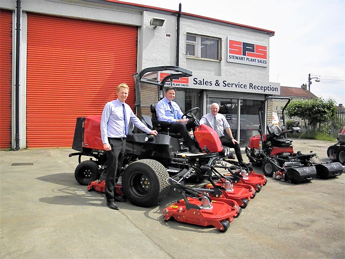 Stewart Plant Sales appointed Baroness dealer