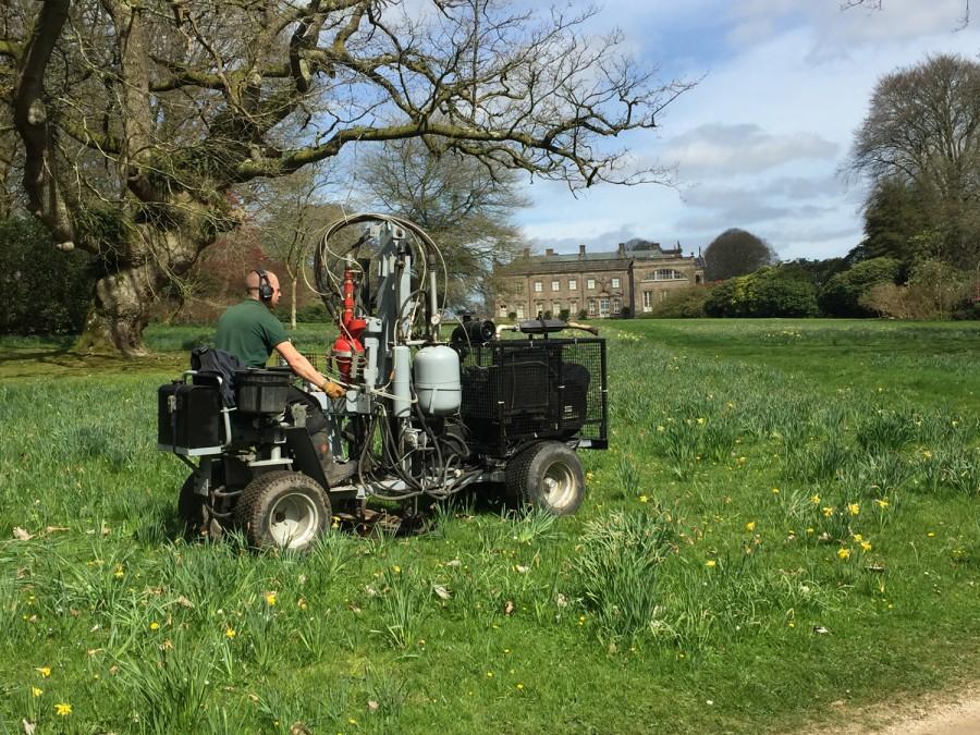 Return to Stourhead for Terrain Aeration