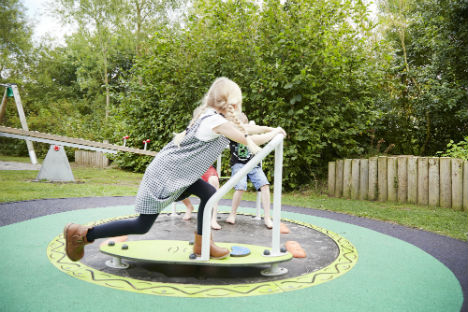 Spinning around with Sutcliffe Play