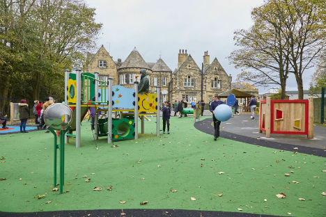 Sutcliffe Play completes innovative sensory play area