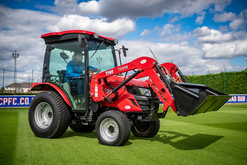 A workhorse with extra for Autumn - TYM's T393 tractor