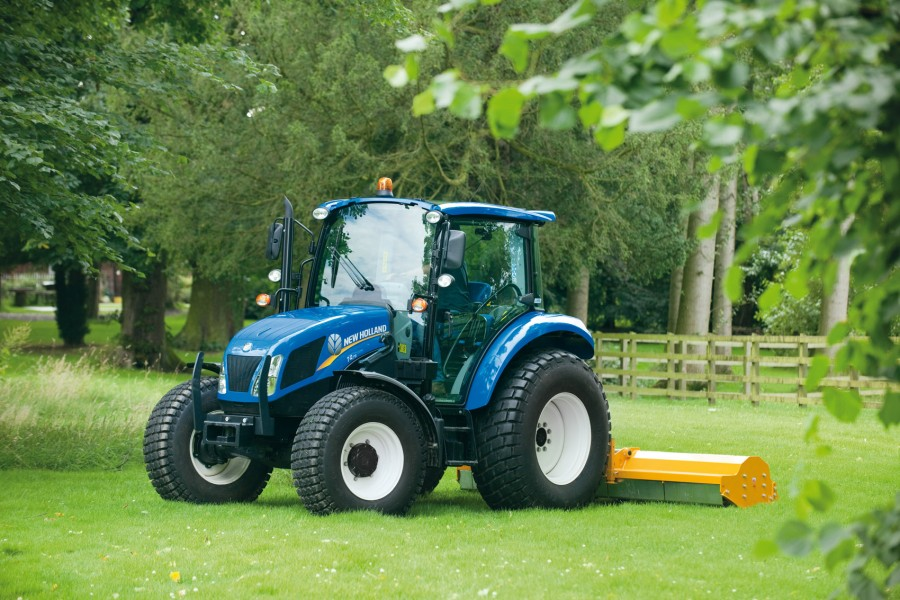 New Holland T4 Tier 4B Series: lower fuel consumption and improved engine response