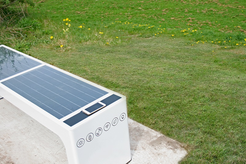 All Urban install first SMART benches in rural Wales