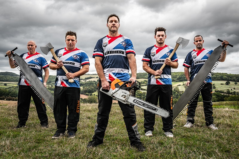 British team named as UK prepares to host Stihl TIMBERSPORTS World Championship