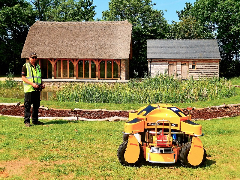Iconic cider brand uses Spider mower to maintain farm