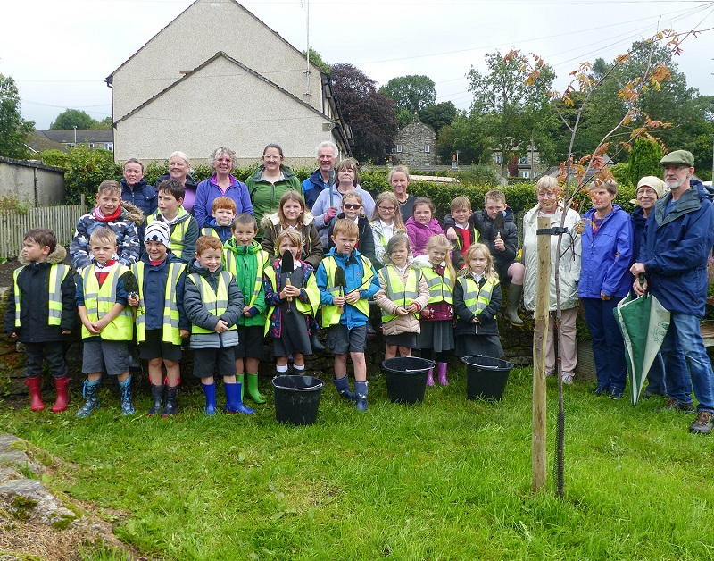 John Chambers Wildflower Seed helps Grassington sow a new meadow