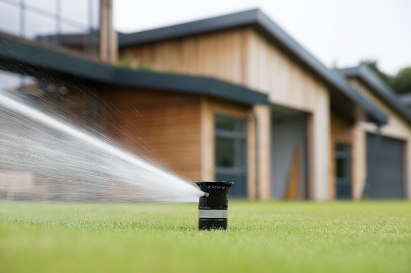 Toro irrigation sprinklers chosen for the R&A