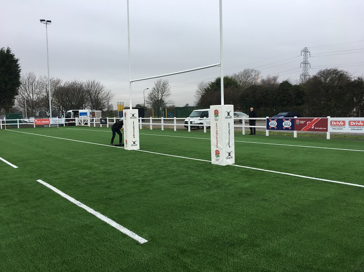 TigerTurf completes the first RFU Rugby Turf project
