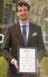Chartered Institute of Horticulture Young Horticulturist of the Year 2018. And the winner was Tim Miles, representing the South East Region