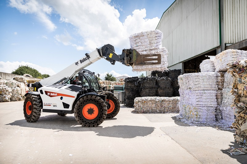 New Waste Expert telescopic loaders from Bobcat