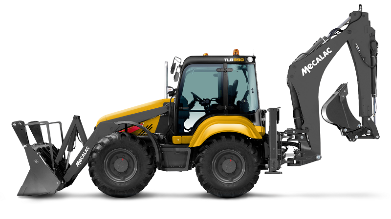 Buoyant construction market drives backhoe sales for Mecalac