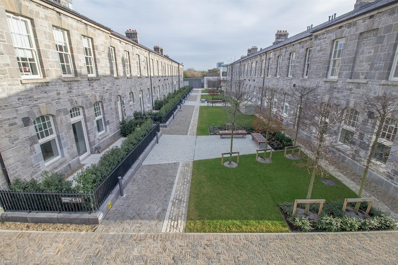 Full Tobermore paving solution for lavish development