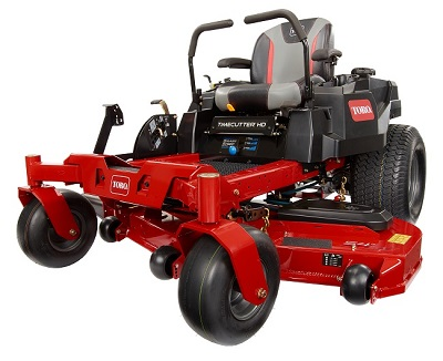 Toro's new TimeCutter HD zero-turn mowers
