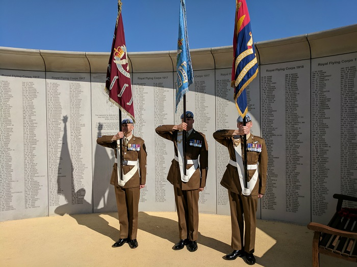 Townscape Products completes British Army Flying Memorial
