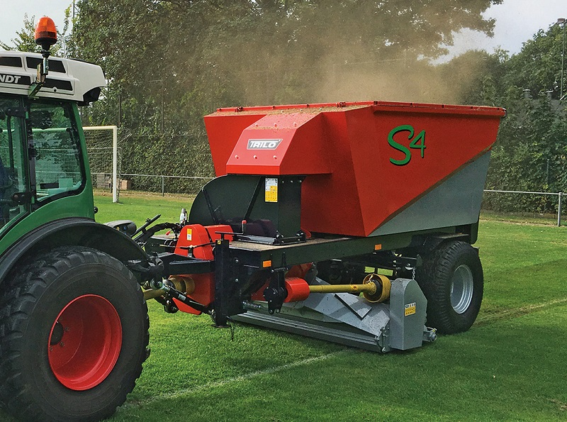 Trilo present solutions for turf and waste management at BTME