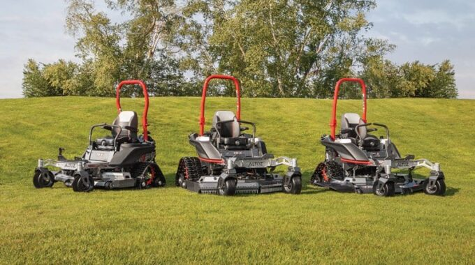 Introducing the UK to the latest innovation in mowing