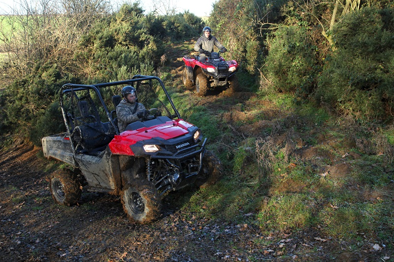 Honda leads the way with all-terrain tracking