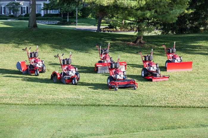 One tractor but six machines from GroundsCare Products