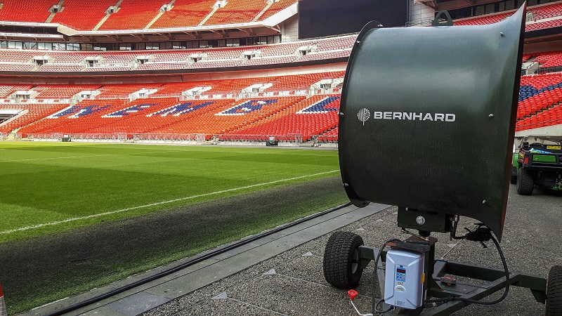 TurfBreeze fans create an air of confidence at Wembley Stadium