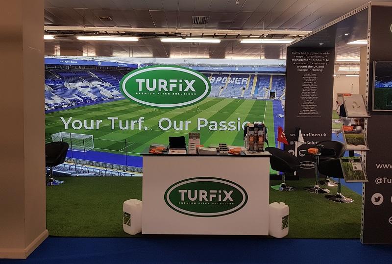 The Turfix pitch at SALTEX