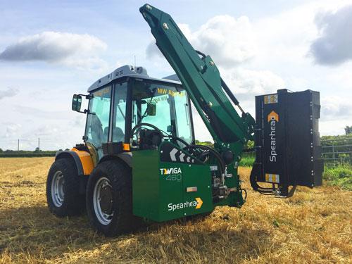 New TWIGA Compact 360 front mount debuts at SALTEX 2017