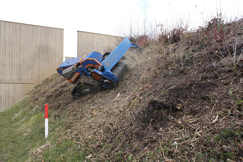 Irus remote mowers boost safety