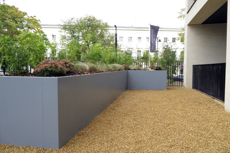 Steel planters at the root of EverEdge's success