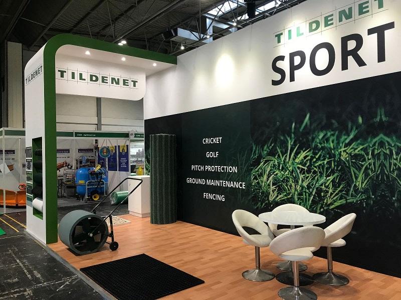 Tildenet Sport stand showcased innovation