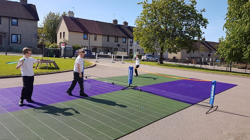 Gerflor and Judy Murray rise to community challenge