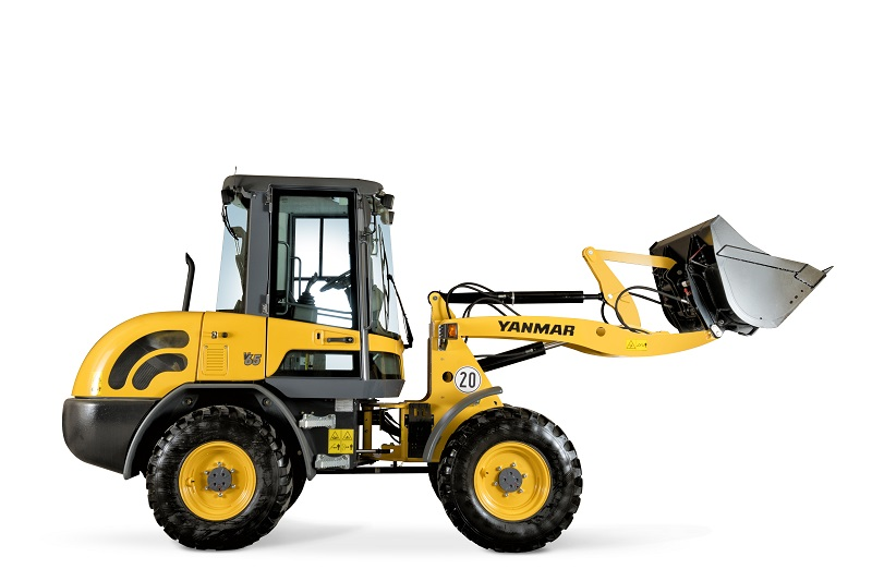 Yanmar launches V65 compact wheel loader