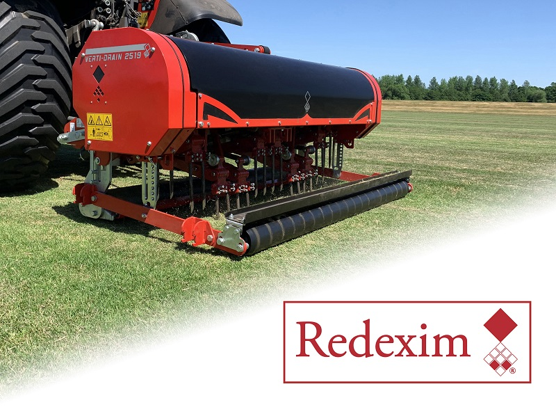 Charterhouse Turf Machinery announce corporate name change to Redexim