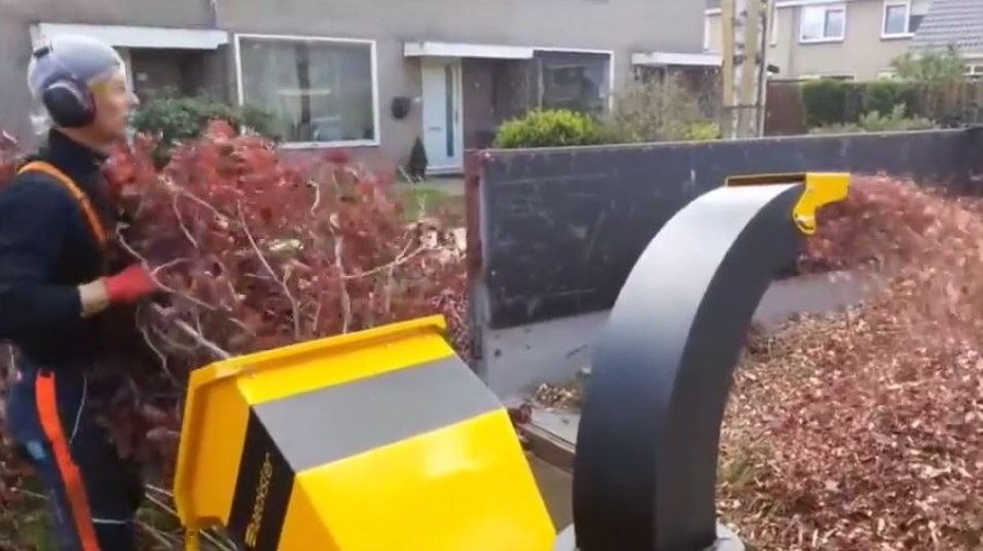 Haecksler The extremely fast shredder for professionals
