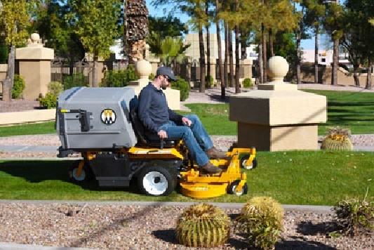 European debut for new Walker mower