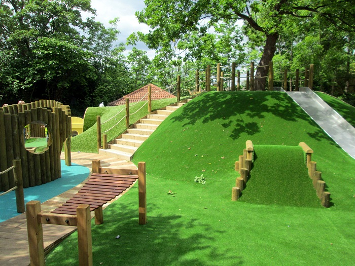 M&M Timber supply wood for new playscape creation