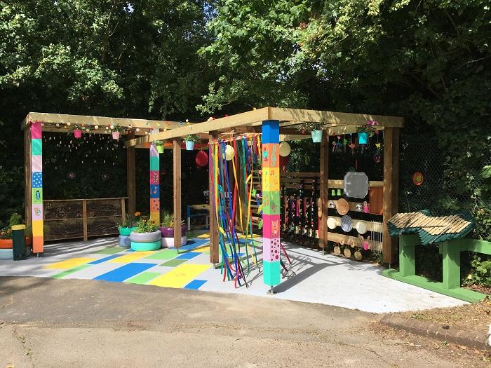 Watco brightens children's charity playground