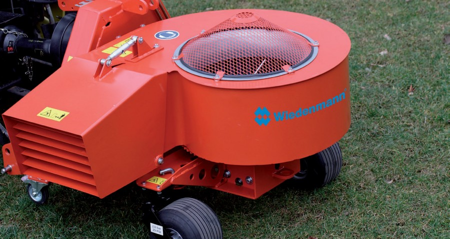 Super quietly for Wiedenmann sweepers and collectors