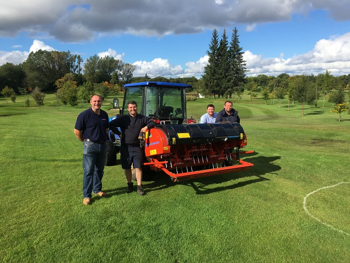 Wiedenmann Terra Spike GXi8 HD puts Williamwood GC ahead