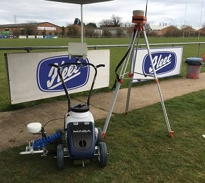 Fleet Line Markers previews GPS line marking machine