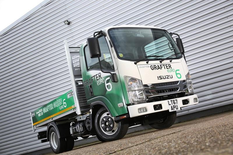 Isuzu Truck launches new Grafter Green 3.5tonne truck range