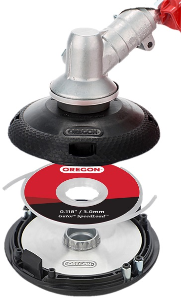 Receive a Free Oregon® Gator® SpeedLoad™ Trimmer Head with the Purchase of Line Disc Multi-Packs