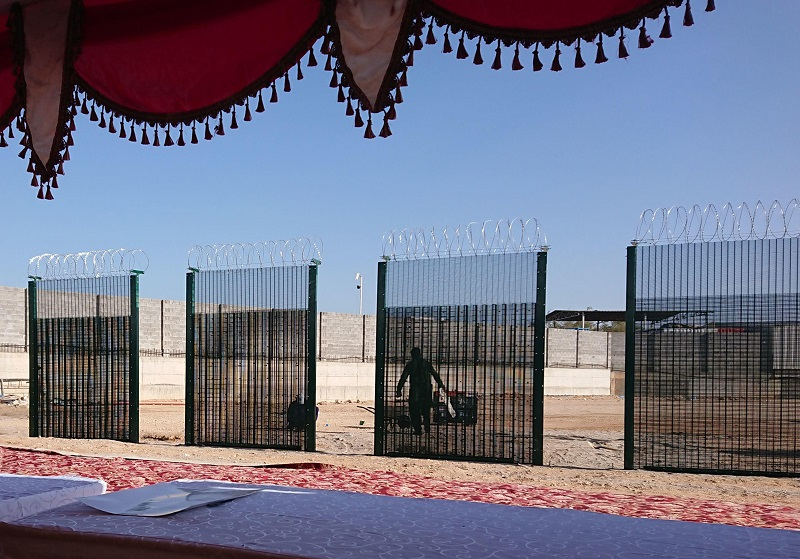 Zaun develops 'world first' 20-minute security fence