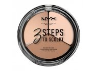 Paleta Conturare NYX Professional Makeup 3 Steps To Sculpt