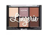 Paleta farduri NYX Professional Makeup Lid Lingerie Shadow Palette