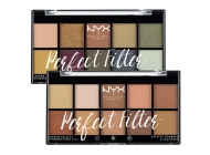 Paleta farduri NYX Professional Makeup Perfect Filter Shadow Palette