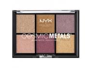 Paleta farduri NYX Professional Makeup Cosmic Metals