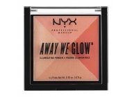 Paleta Iluminatoare NYX Professional Makeup Away We Glow Illuminating Powder